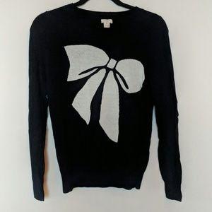 J. Crew bow sweater
